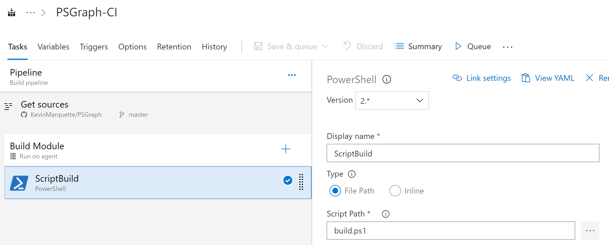 Powershell: Building Modules with the Azure DevOps Pipeline
